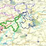 Route's 2005-2013  (gemaakt door Gijs Wevers)